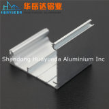 銀製のマットによって陽極酸化されるアルミニウム放出は産業プロフィールの側面図を描く