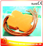 24V Silicone Rubber Fuel Filter Heater 240*310*1.5mm 200W 3m 100k