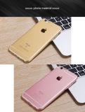 超薄い高品質およびゆとりは十分に柔らかいTPUの携帯電話の箱を覆った