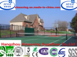 Suelo al aire libre modular colorido modificado para requisitos particulares del baloncesto de los PP
