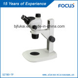 Microscópio do telescópio da alta qualidade 0.66~5.1X para a microscopia da jóia