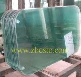 Tailles personnalisées durcies et glace de flotteur stratifiée de balustrade de balcon