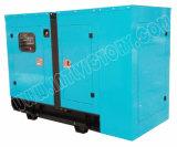 gerador 50kw/62.5kVA Diesel silencioso super com o motor BRITÂNICO Ce/CIQ/Soncap/ISO de Perkins