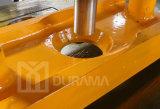 Unching combinado cerrajero hidráulico y corte, corte de la barra de ángulo