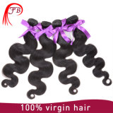6A等級の自然な人間の毛髪のモンゴルのバージンの毛ボディ波