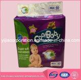 Bonbon de couche-culotte de marque de soin de bébé avec la bande de pp