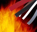 Junta de porta de fogo flexível