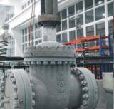 GR Wcb литой стали A216 API 600 служило фланцем поднятая запорная заслонка стороны