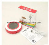 Scaldino della tazza della tazza del USB del caffè con il LED e l'interruttore