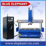 Beste CNC van de Houtbewerking van 4 As Router voor het Maken van de Gitaar