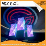 Farbenreiche bekanntmachende Innenmietbildschirmanzeige LED-P3.91