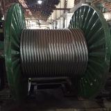 O aço de alumínio trapezoidalmente do condutor da transmissão de poder suportou Acss/Tw