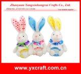 Oído mullido del conejito de Pascua de la decoración de Pascua (ZY15Y324-1-2-3)