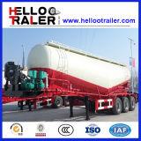 각자 Loading Type 3 Axle 45cbm Bulk Concrete Transport Tank Semi Trailer
