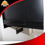 Шкаф меламина металла 3 ящиков высокий лоснистый