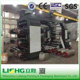 Ytb-61000中国の高性能6colors 1000mmの幅のプラスチックフィルムのFlexoの焼付装置の製造者