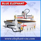 Ranurador de talla de madera automático del CNC 3D de Ele 1325, cortadora de madera para el diseño de madera de la puerta