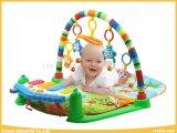 Качество и пинок & игра безопасности циновка игры младенца игрушек гимнастики рояля с картиной 3 для младенца