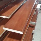 Porte en bois de teck de fantaisie avant, modèle de découpage en bois (SC-W094)