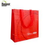 Sac d'emballage non tissé estampé par logo bon marché de grande taille des prix pour des achats