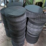 穏やかな鋼鉄黒の鉄の金網のフィルタクロス