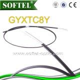 자활하는 공중 광섬유 케이블 GYFTC8Y