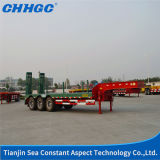 La Cina Factory 3 Axles 30t-46t Hydraulic Low Bed Semi Trailer