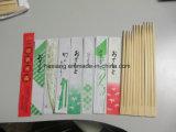 Fundas del diseño del color de los palillos con insignia
