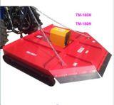 上層の芝刈り機はトラクター(ブラシカッター、草カッター、slasher、せん断)に取付けた