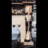 Marmeren Veelkleurige Open haard mfp-729 van de Open haard van het Graniet van de Open haard van de Steen van de Open haard