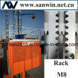 Sc200 2t choisissent l'élévateur de camion de la cage 30m/Min 2*11kw
