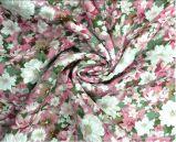 Plein tissu teint visqueux estampé floral d'usine de tissu de textile