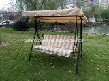 3つのシートの庭の振動椅子