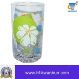 Quanlityの高いよいガラスコップの一定のステッカー水コップのKbHn08167