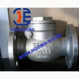 Válvula de verificação de alta pressão da flange do balanço do aço de carbono de API/DIN