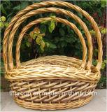 Feria de Cantón hecha a mano la decoración del hogar cesta de picnic cesta de regalo cesta de mimbre
