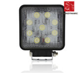 IP68 impermeable 27W LED de la luz LED del camino que conduce la luz de trabajo de Light/LED