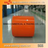 Quente/laminou a bobina de aço Prepainted ASTM revestida cor do aço PPGI