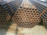 Q235ミャンマーの市場のための物質的な黒い鉄管