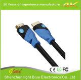Supporto di cavo di HDMI 2.0V colore blu/nero di 4k*2k/60Hz