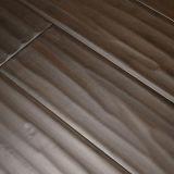 12mm Valinge Klicken wasserdichter Handscraped lamellenförmig angeordneter lamellierter Bodenbelag