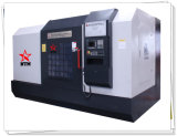 Torno lleno del CNC del blindaje del metal para el disco de torneado del freno del carro (CK61160)