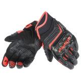 Il motocross professionale mette in mostra i guanti che corrono i guanti di cuoio (MAG97)