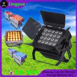 20X15W RGBWA 5in1 im Freien wasserdichte LED NENNWERT 64 Stadiums-Beleuchtung