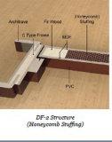PVC Interior Wooden Door do MDF para o quarto (PVC-01)
