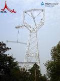 Torretta d'acciaio per il trasporto di energia, telecomunicazione