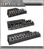 Het tactische Spoor van Picatinny van de Vierling van H&K G36 G36c G36k Handguard zet voor Ordeverstoorder & Koch op