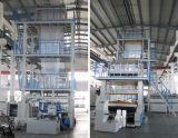 Unidad de Común-Extrudado de la maquinaria de la película principal rotatoria de dos capas que sopla