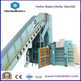 Máquina de empacotamento de papel hidráulica semiautomática para recicl o centro