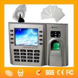 Рекордер времени USB RJ45 биометрический (HF-iclock260)